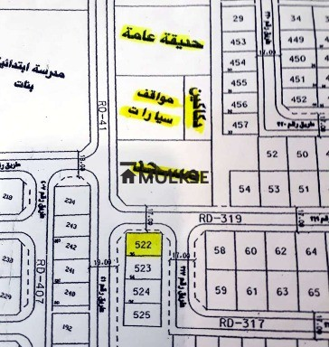 Land for sale in kuwait Fnaitees area,