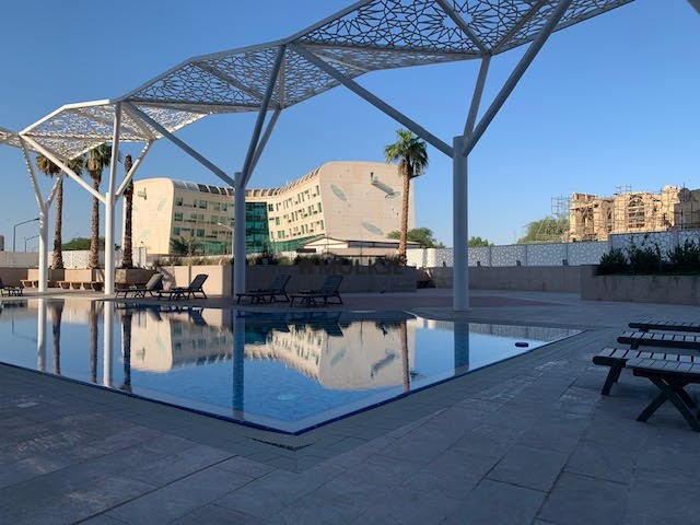 al nada tower kuwait swimming pool