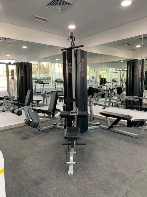 al nada tower kuwait fully equiped gym