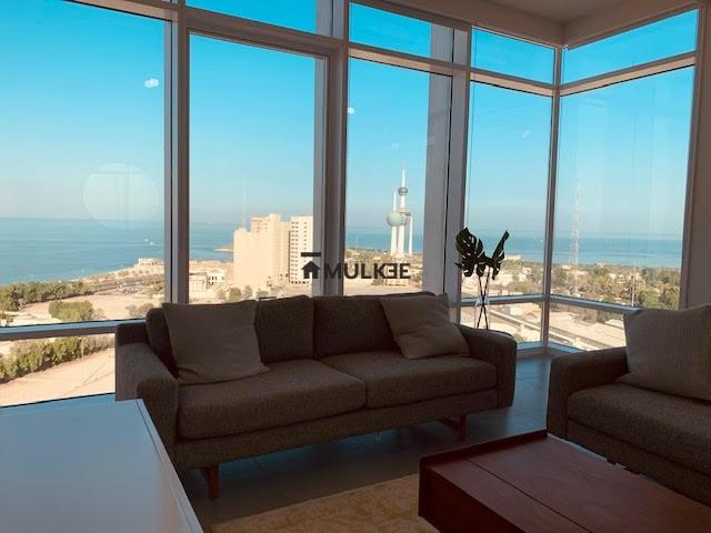 al nada tower kuwait livingroom