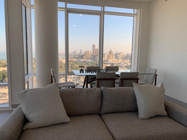 al nada tower kuwait living room