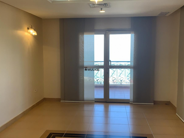 2 Bedroom Sea View apartment in Salmiya, Balcony